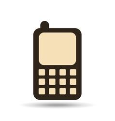 Technology cellphone smartphone social media vector
