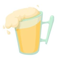 Beer icon cartoon style vector