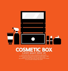 Cosmetic Box vector image vector image