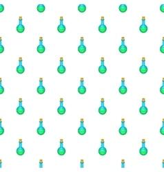 Flask of liquid pattern cartoon style vector