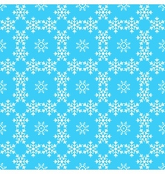 Pattern from snowflake vector image
