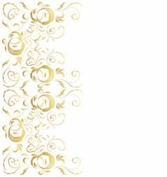 vintage frame for your design vector image