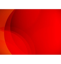 Abstract red horizontal background vector