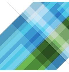 Abstract blue green geometric tech background vector
