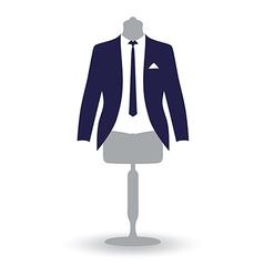 Suit man vector