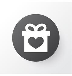 Gift icon symbol premium quality isolated present vector