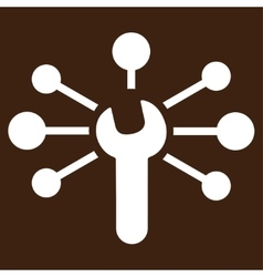 Service relations icon vector