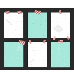 Christtmas greeting card banner isolated vector