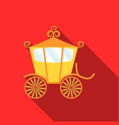 Carriage icon of for web and vector