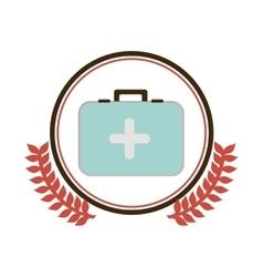 Medical care symbol vector image