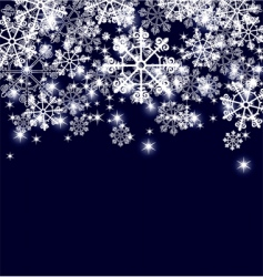 Snowflakes page vector