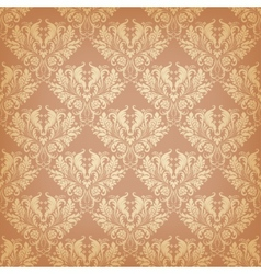 Seamless background in vintage style vector