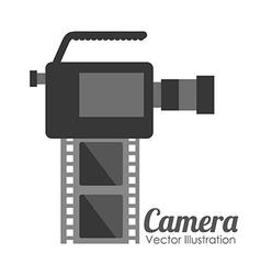 camera film design vector image