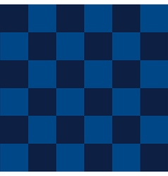 Blue sea chess board background vector