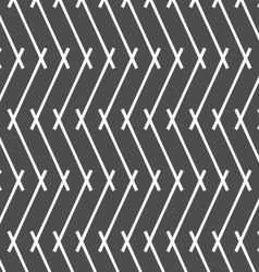 Monochrome pattern with gray intersecting lines vector