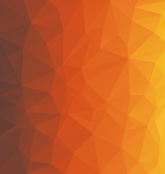 Brown orange honey triangular pattern background vector