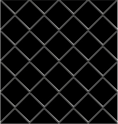 Black And White tile seamless background in grunge vector image vector image