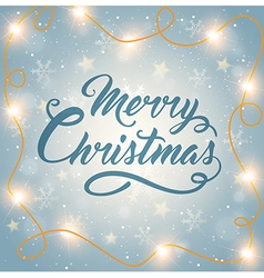 Decorative shining christmas background vector