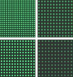 Grey green seamless pattern vector