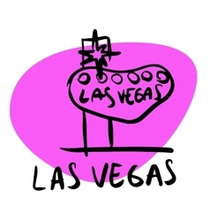 Las vegas nevada usa vector