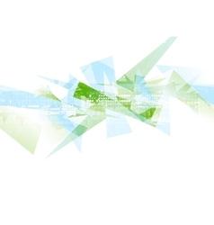 Abstract hi-tech geometric polygonal shapes vector