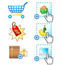 E-commerce icons complex series vector