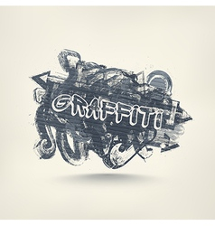 Graffiti art vector