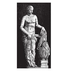 Aphrodite vintage vector