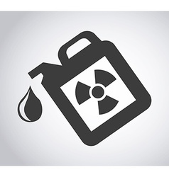 gallon fuel vector image vector image
