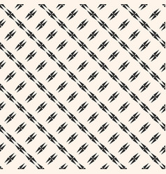 geometric seamless texture lines stars crosses vector image vector image