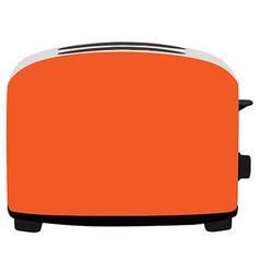 Orange toaster vector image