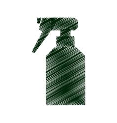 Sprinkler bottle isolated icon vector