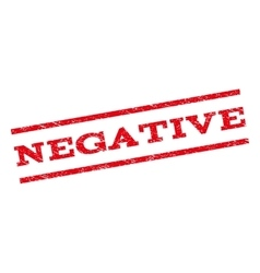 Negative watermark stamp vector