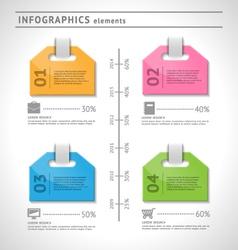 Business infographics elements vector