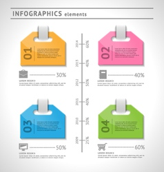 Business infographics elements vector