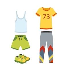 Jogging clothes vector