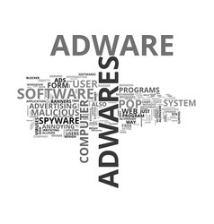 Adware tale of the computer hijackers text word vector