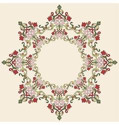 Antique ottoman turkish pattern design thirty four vector