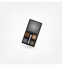 Cosmetics shadow icon vector