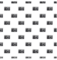 Front view camera pattern vector