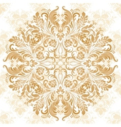 pattern in vintage style vector image vector image