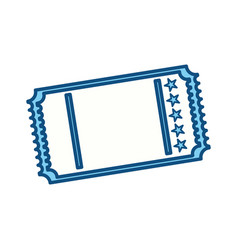 tickets to cinema movie entertainment movie vector image