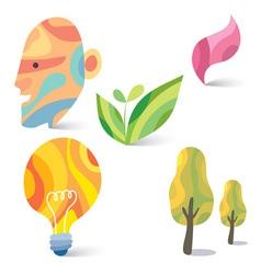 Art colorful design vector