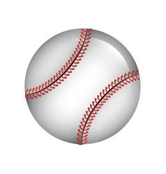 ball baseball isolated icon vector image