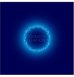 constellation logo vector image