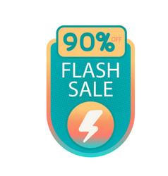 Flash sale 90 off bolt background image vector