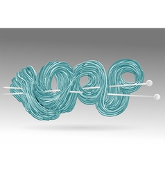 Knitting vector