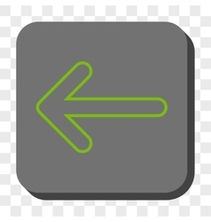 Rounded arrow left rounded square button vector
