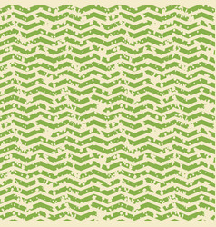 Greenery and white zigzag spotted seamless pattern vector