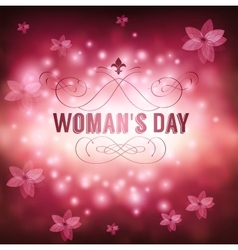 Womans day vector